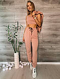 Женский спортивный костюм тройка 39-554, фото 2
