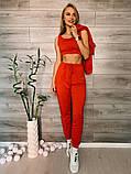 Женский спортивный костюм тройка 39-554, фото 3