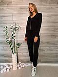 Женский спортивный костюм тройка 39-554, фото 4