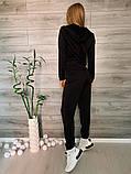 Женский спортивный костюм тройка 39-554, фото 8