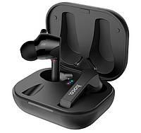 Наушники Bluetooth TWS HOCO Pleasure wireless headset ES34 в кейсе, черные