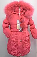 Зимняя куртка для девочки. В-108-1