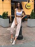 Женский спортивный костюм брюки + топ 39-562, фото 4
