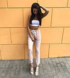 Женский спортивный костюм брюки + топ 39-562, фото 6