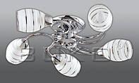BUKO 131 ЛЮСТРА 5*Е14 ХРОМ D520*H130MM