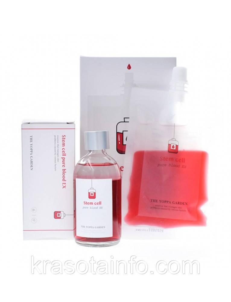 Омолаживающая эссенция со стволовыми клетками THE YOPPA GARDEN - Stem Cell Blood EX 100ml + Refill 100ml