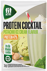 Коктейль белковый с L-карнитином и гуараной ФитПарад FitActive Фисташковое Мороженое (30 грамм)