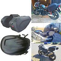 Боковые сумки кофры через сиденье KOMINE кофры мотоцикла скутера ткань мотосумка боковая мото сумка мотокофра