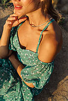 Повседневное платье в цветочный принт, фото 3