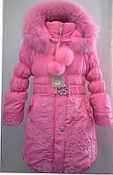 Зимняя куртка для девочки. В-108-2