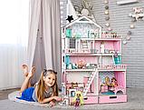 """""""ВЕЛИКИЙ ОСОБНЯК"""" ляльковий будиночок NestWood для ляльок LOL/OMG/Барбі, фото 2"""