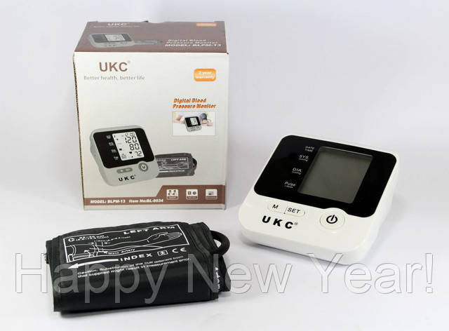 Электронный измеритель давления UKC BL-8034 / тонометр