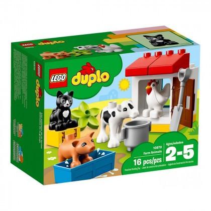 Конструктор  LEGO DUPLO Животные на ферме 16 деталей (10870)