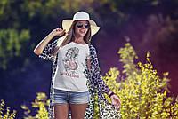 "Женская футболка ""Sakura flower"""