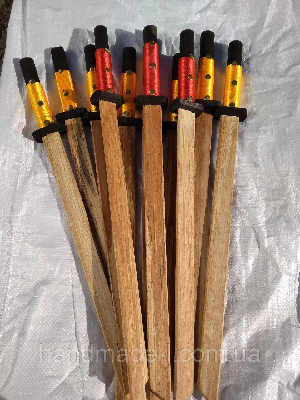 Катана самурая деревяна