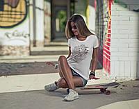 "Женская футболка ""Girl bird"""