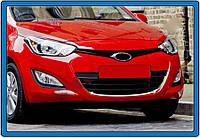 Hyundai I20 2011-2020 обводки решетки (нерж.)