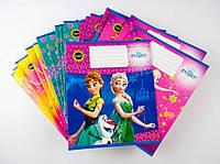 Комплект зошитів Міцар скоба 24 арк лінія Серія Frozen 20 шт 243779, КОД: 901970