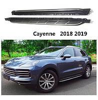 Porcshe Cayenne 2018-2020 Боковые оригинальные площадки