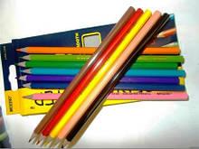 Набір кольорових олівців