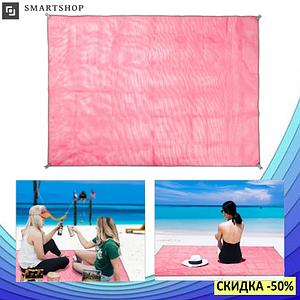 Пляжная подстилка анти-песок Sand Free Mat 150см*200см - пляжный коврик,подстилка антипесок,пляжное покрывало