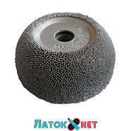 Контурный круг абразивная полусфера д 50 мм с полиуретановой вставкой и адаптером зернистость 230 ед HP104, фото 2