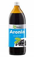 Сок из черноплодной рябины ( Аронии ) 100% без консервантов 500 мл, EkaMedica