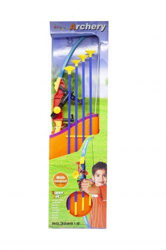 Лук игрушечный с лазером и стрелами 35881B