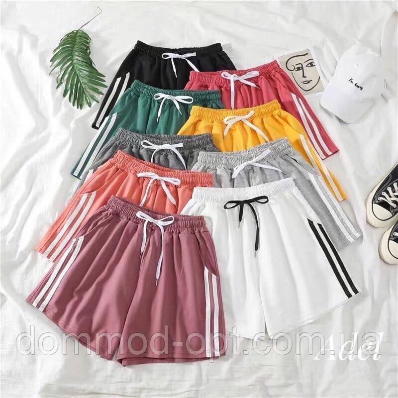 Жіночі шорти №162 (р. 42-48) в кольорах