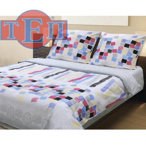 """Комплект постельного белья """"Мозаика"""" ТЕП бязь (100% хлопок) недорого."""