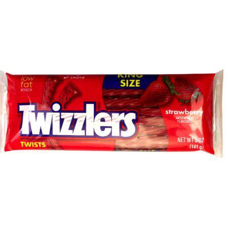 Жевательный мармелад Twizzlers Strawberry 141 g