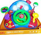 Детский руль США - развивающая музыкальная игрушка автотренер Bright Starts Baby Light and Colors Drive, фото 2