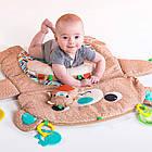Детский Игровой коврик Мишка США  Bright Starts Tummy Time Prop & Play, фото 2