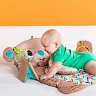 Детский Игровой коврик Мишка США  Bright Starts Tummy Time Prop & Play, фото 8