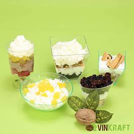 Cтаканчики для десертів та закусок