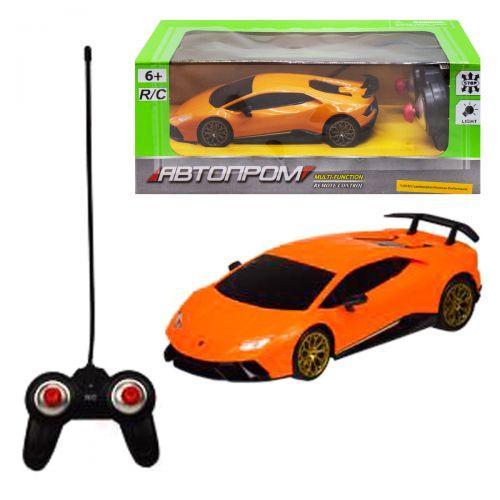 """Машина на радиоуправлении """"Lamborghini Huracan"""" из серии """"Автопром"""", оранжевый 8828"""