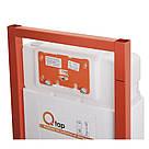 Инсталляция для унитаза Q-tap Nest комплект 4 в 1 с панелью смыва PL M11MBLA, фото 3