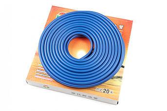 Шланг топливный Ø4мм, 10 метров (силиконовый, синий) HTY