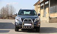 Кенгурятник, защита переднего бампера Toyota Prado 150