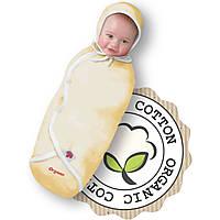 Пеленка-конверт фланель на липучке 100 % хлопок  Deep Sleep Flanel 3 Organik #1 от 0 до 3 мес - ART-0000001