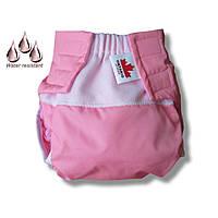 Многоразовый подгузник Waterproof 1 (0-6) мес. розовый - ART-0000034