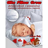 Подушка детская  Elite Pillow Grow, 60х40, шарики Fluffy balls, ТИК, кант, до 500 гр. - ART-0000050
