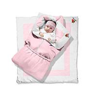 Одеяло-трансформер котенок Premium, 85х90, бязь, силикон 300, вышивка 79 - ART-0000054