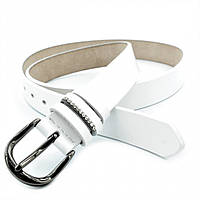 Женский кожаный ремень Weatro Белый nwzh-30k-79, фото 1