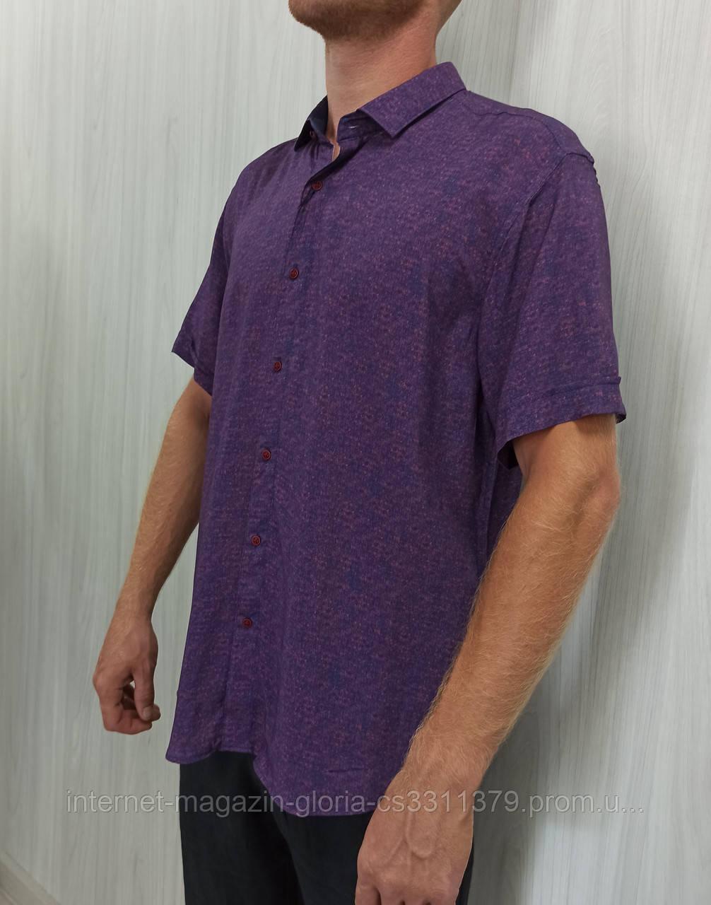 Мужская рубашка FLP. mod.47015. Размеры: 3XL,4L,5XL,6XL.
