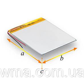 Внутренний Аккумулятор 343747Р Характеристики 44*37*3 800mAh 3.7V