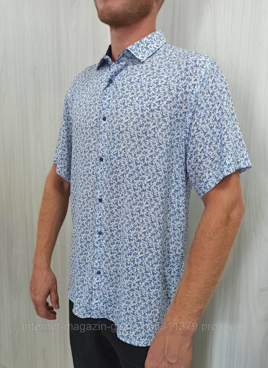 Мужская рубашка FLP. mod.47000. Размеры: M,L,XL,2XL.