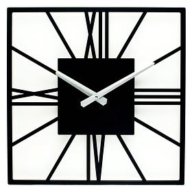 Настінні Годинники Glozis New York 35х35 см Чорний КОД: B-024