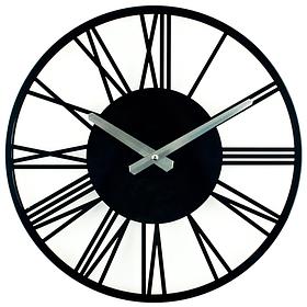 Настінні Годинники Glozis Rome 35х35 см Чорний КОД: B-022