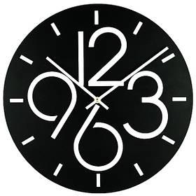 Настінні Годинники Glozis Dublin Black B-030 35х35 КОД: B-030